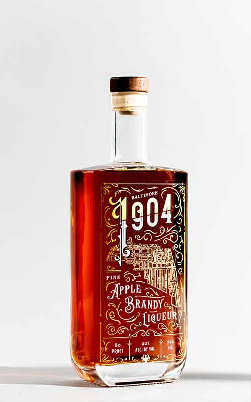 1904: Apple Brandy Liqueur