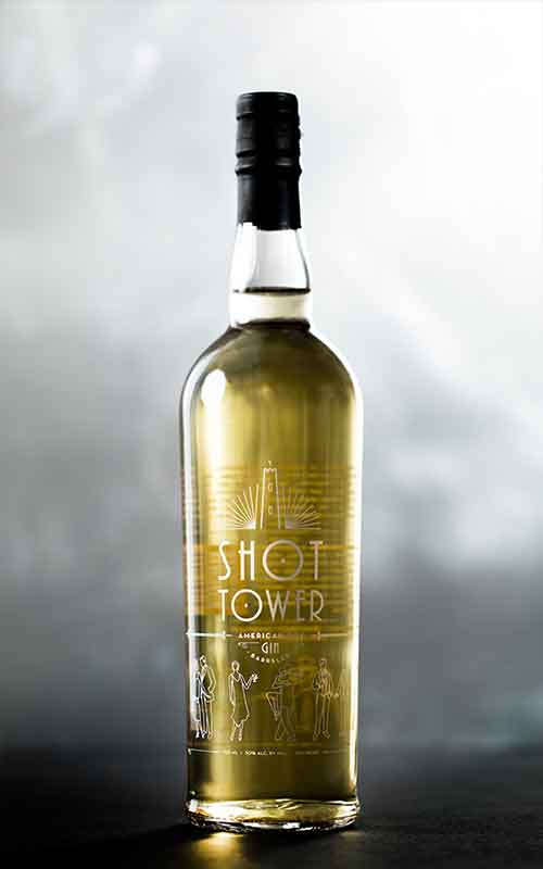 Shot Tower: American Dry Gin Barreled