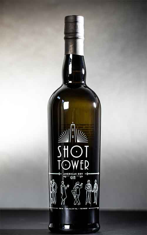 Shot Tower: American Dry Gin